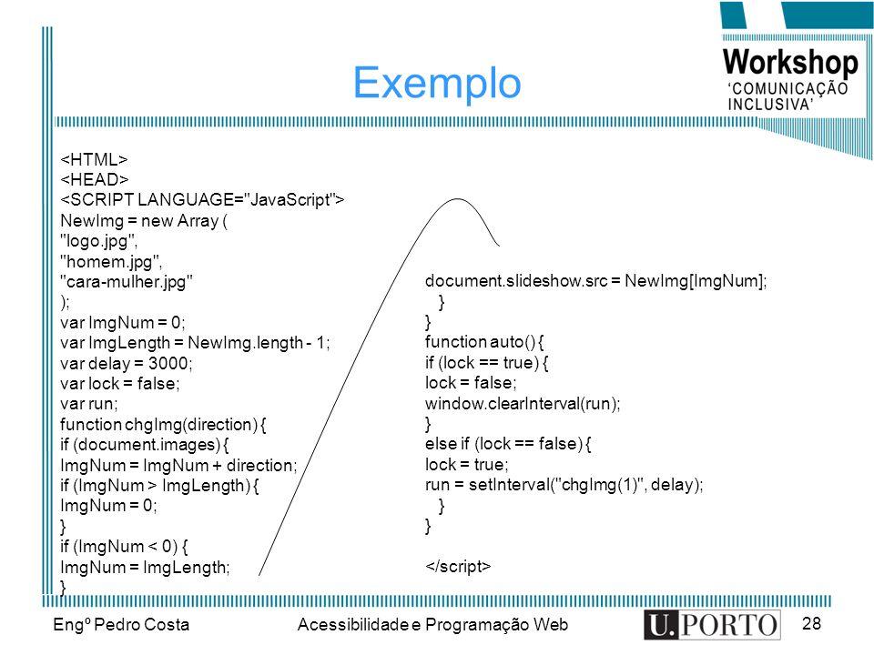 Acessibilidade e Programação Web