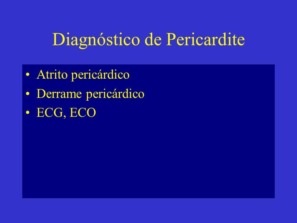Diagnóstico de Pericardite