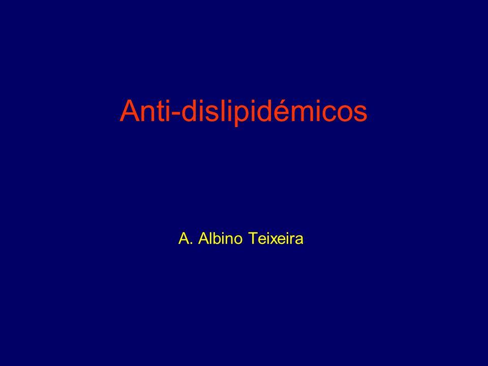 Anti-dislipidémicos A. Albino Teixeira