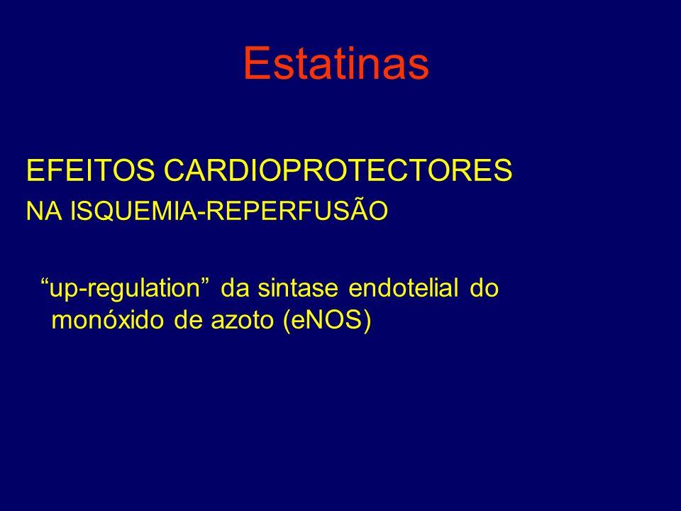 Estatinas EFEITOS CARDIOPROTECTORES NA ISQUEMIA-REPERFUSÃO