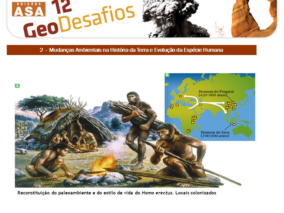 2 – Mudanças Ambientais na História da Terra e Evolução da Espécie Humana