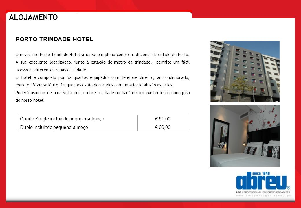 ALOJAMENTO PORTO TRINDADE HOTEL Quarto Single incluindo pequeno-almoço