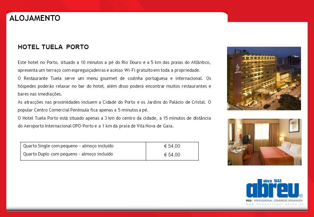 ALOJAMENTO HOTEL TUELA PORTO € 54,00