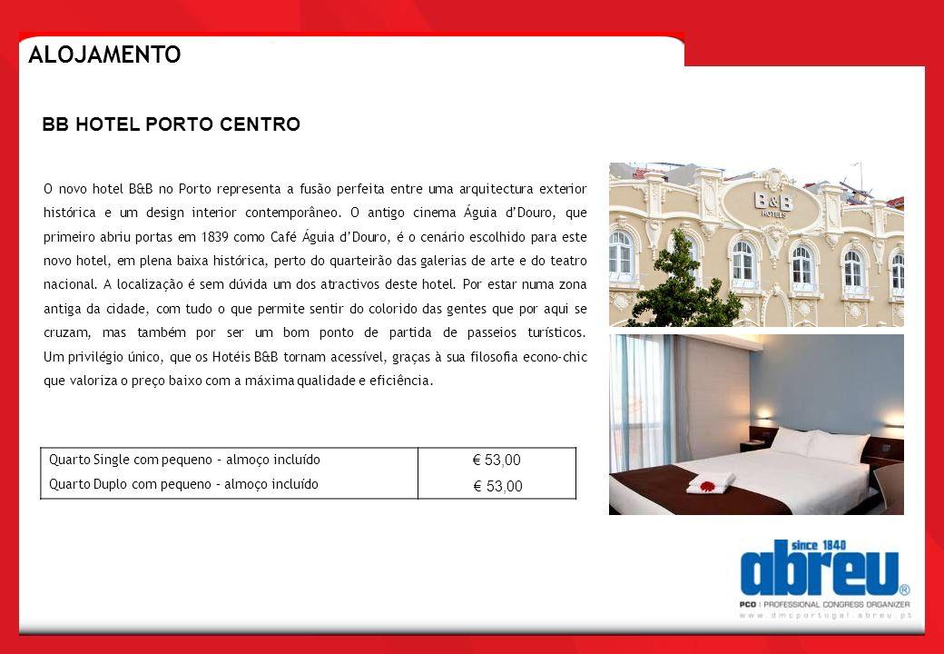 ALOJAMENTO BB HOTEL PORTO CENTRO € 53,00