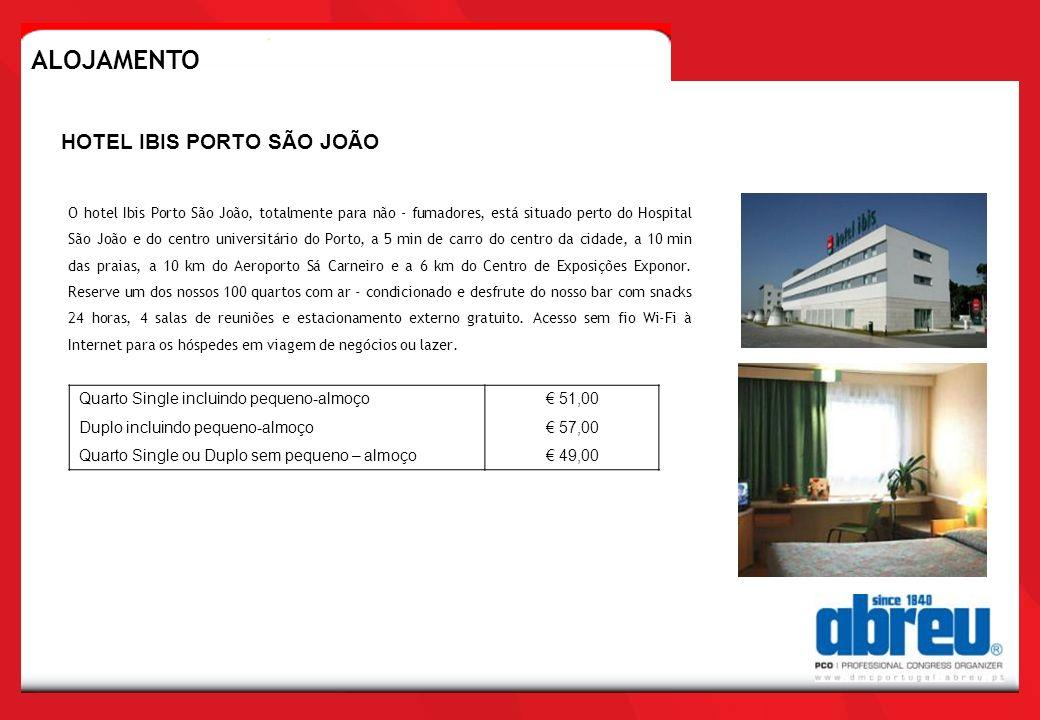 ALOJAMENTO HOTEL IBIS PORTO SÃO JOÃO