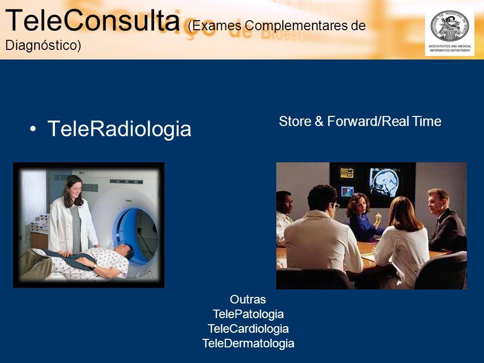 TeleConsulta (Exames Complementares de Diagnóstico)