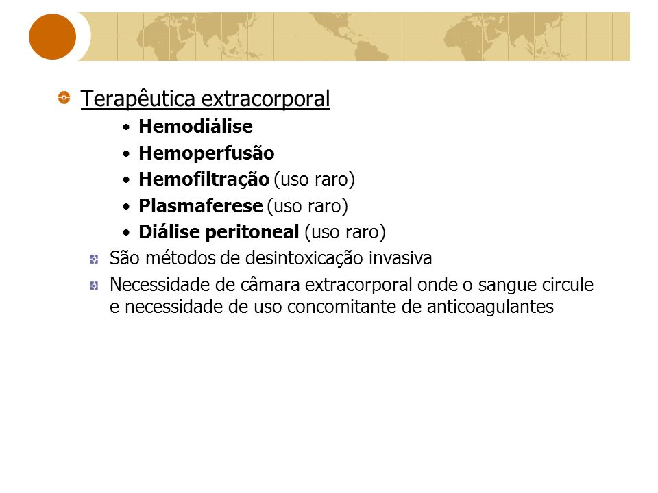 Terapêutica extracorporal