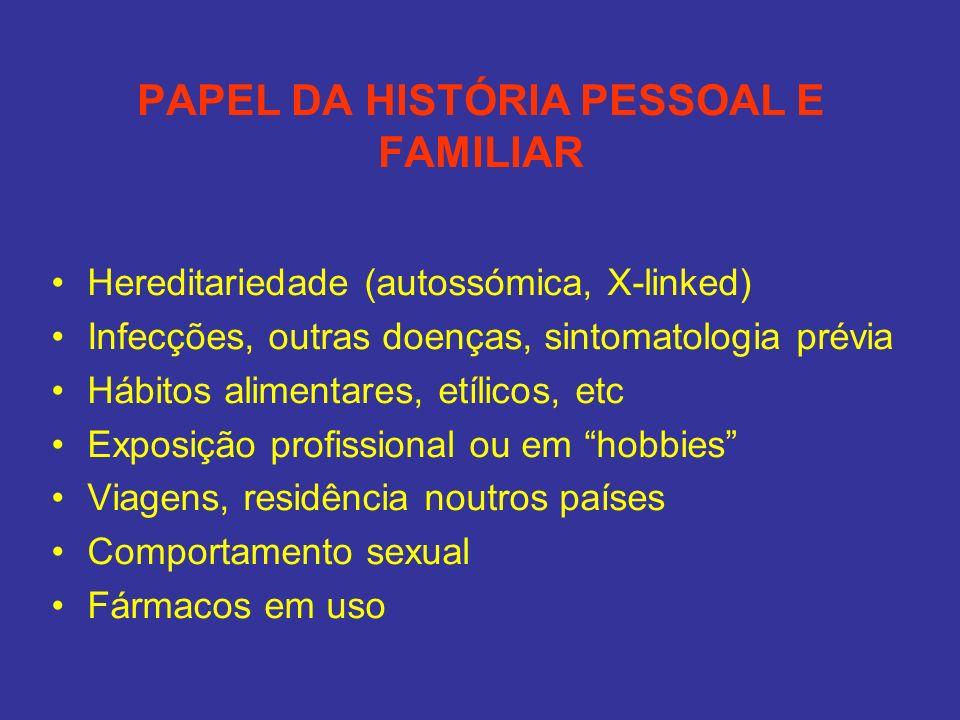 PAPEL DA HISTÓRIA PESSOAL E FAMILIAR