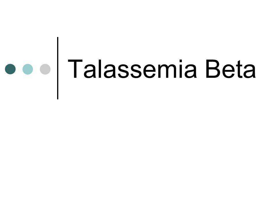 Talassemia Beta