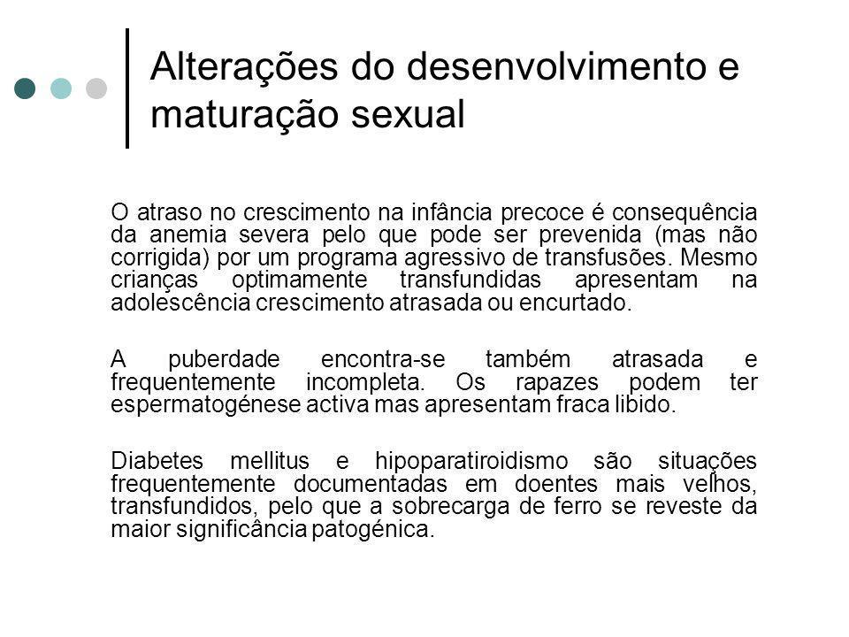Alterações do desenvolvimento e maturação sexual