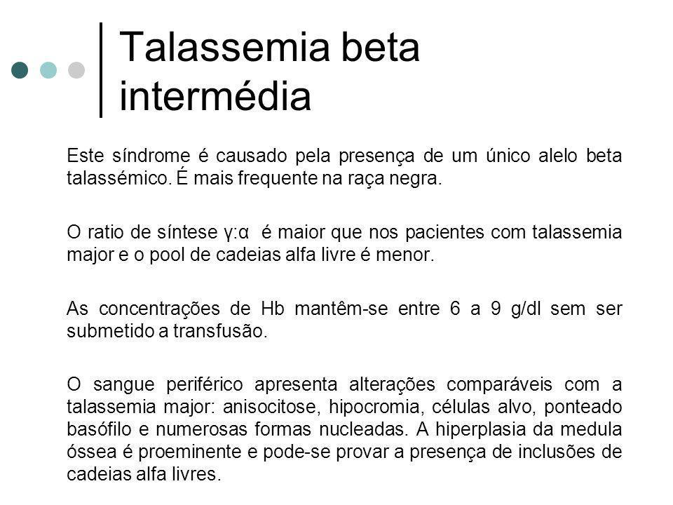 Talassemia beta intermédia