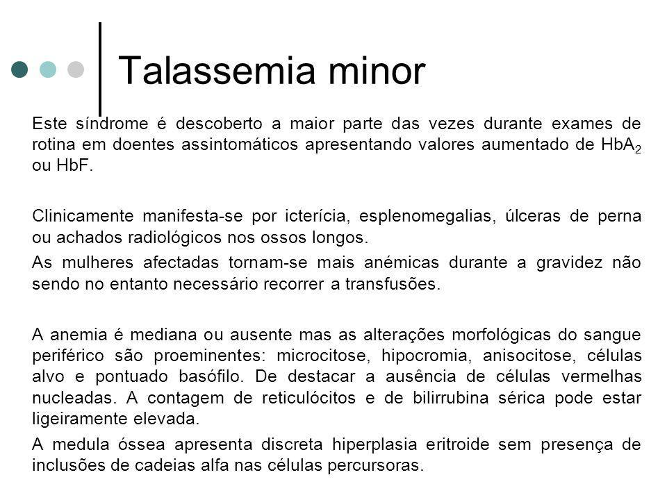 Talassemia minor