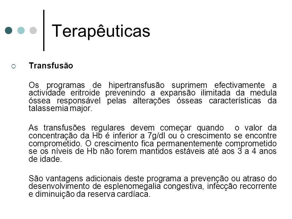 Terapêuticas Transfusão