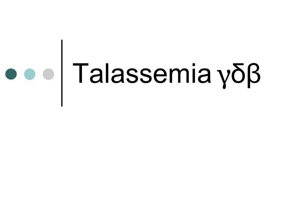 Talassemia γδβ