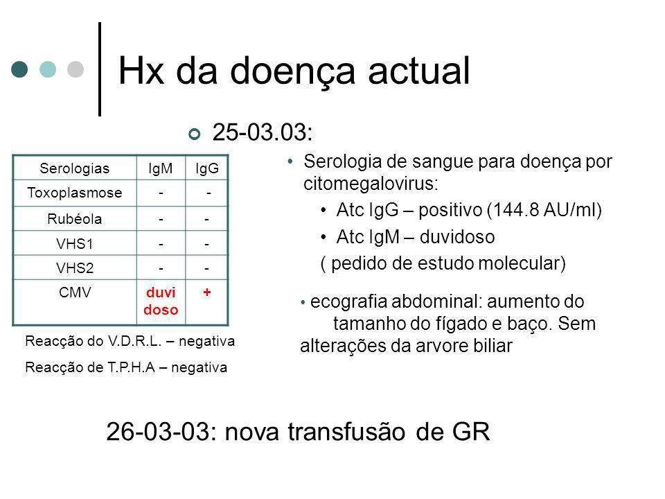 26-03-03: nova transfusão de GR