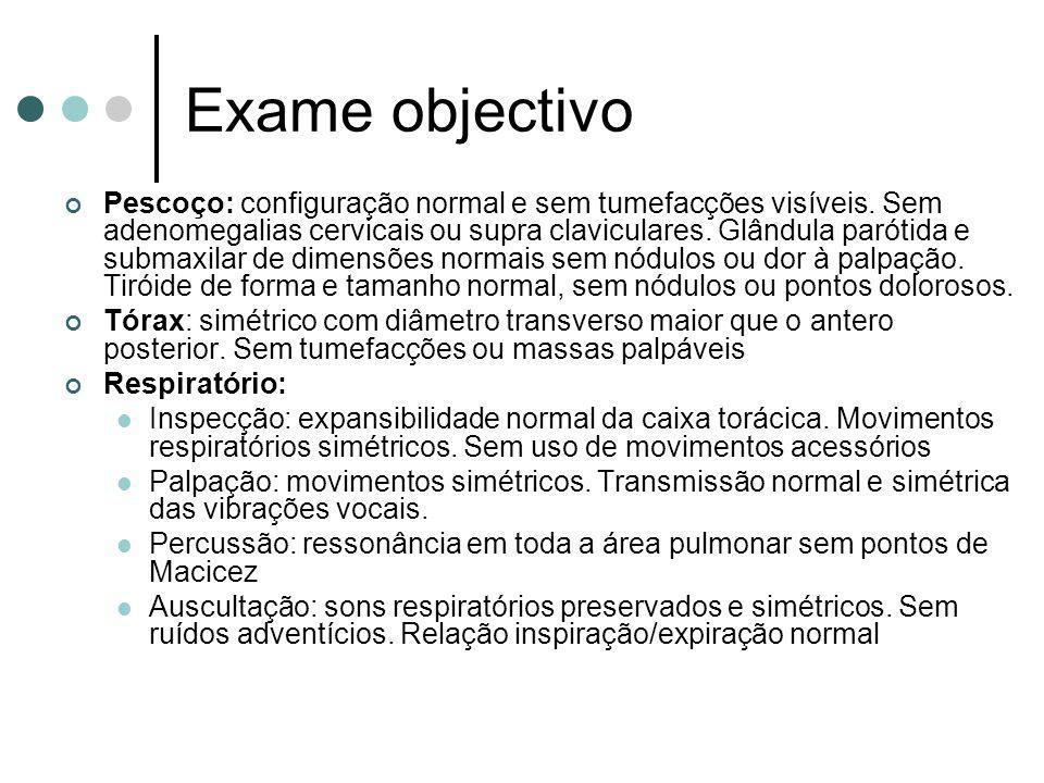 Exame objectivo
