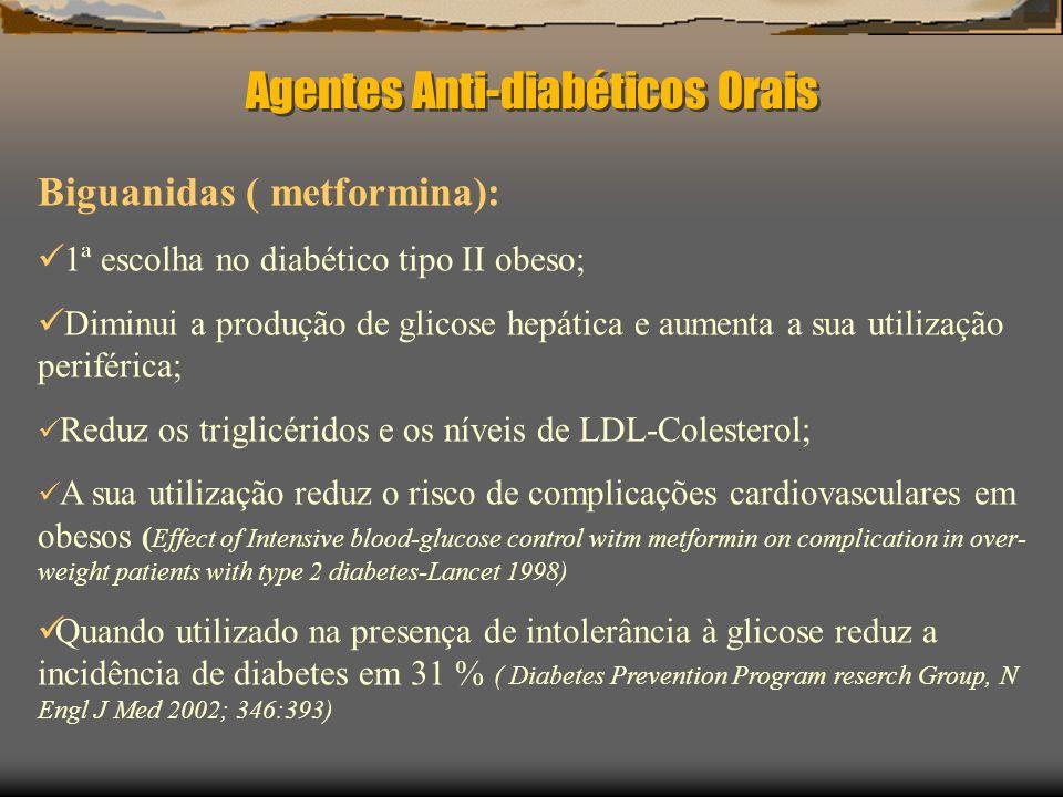 Agentes Anti-diabéticos Orais