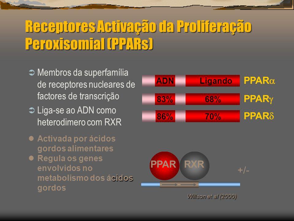 Receptores Activação da Proliferação Peroxisomial (PPARs)