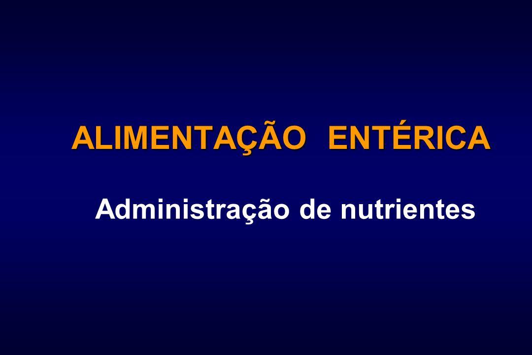 Administração de nutrientes