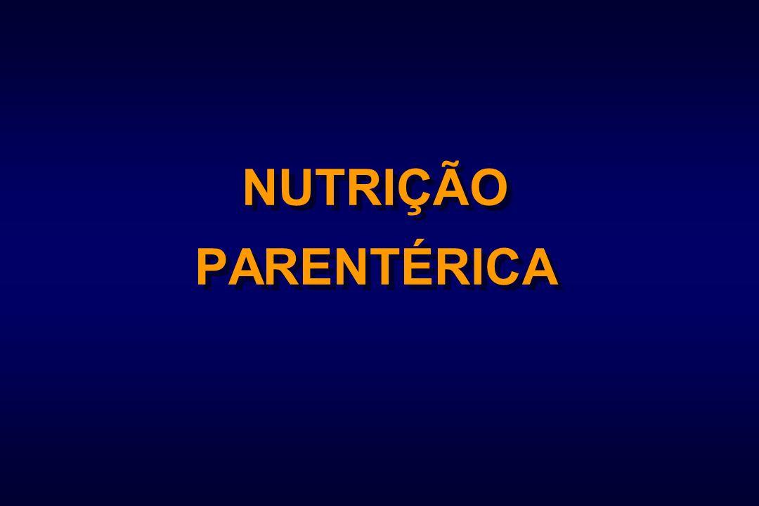 NUTRIÇÃO PARENTÉRICA