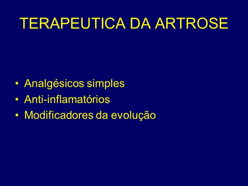 TERAPEUTICA DA ARTROSE