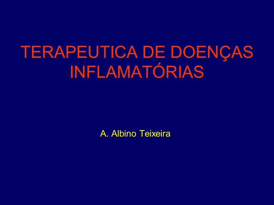 TERAPEUTICA DE DOENÇAS INFLAMATÓRIAS