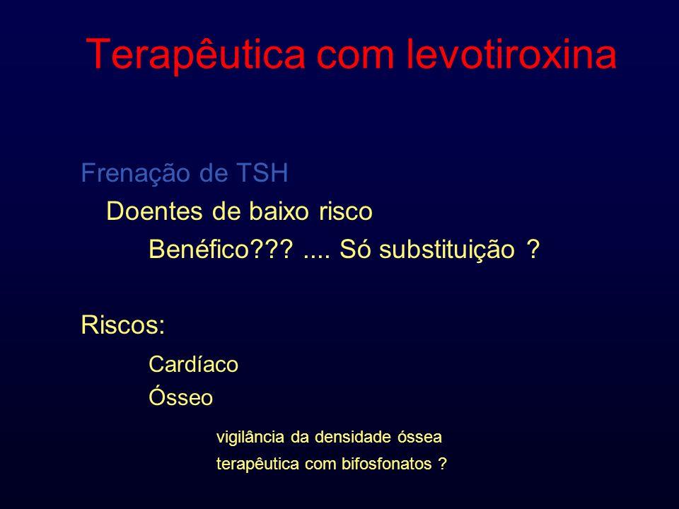 Terapêutica com levotiroxina