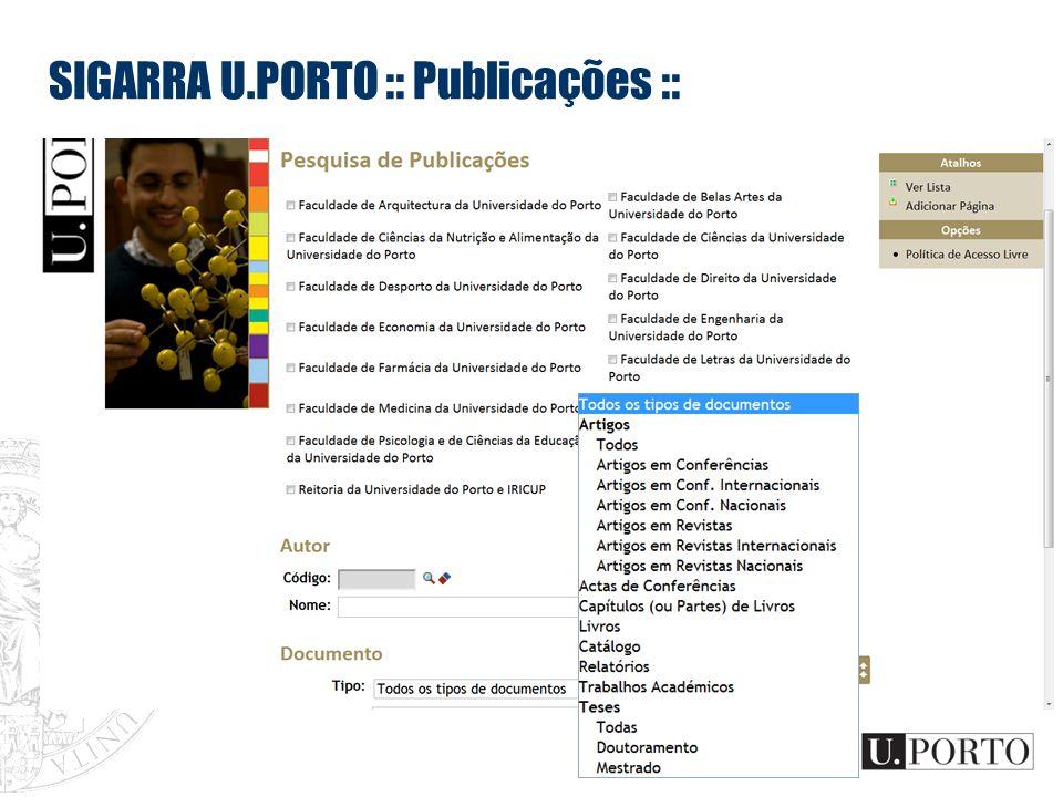 SIGARRA U.PORTO :: Publicações ::