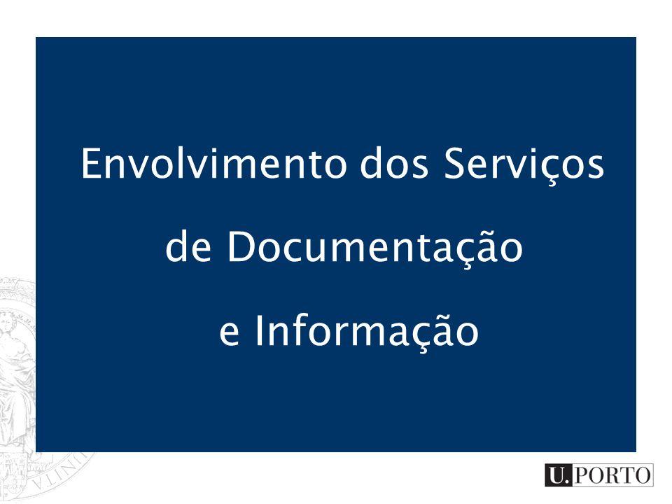 Envolvimento dos Serviços