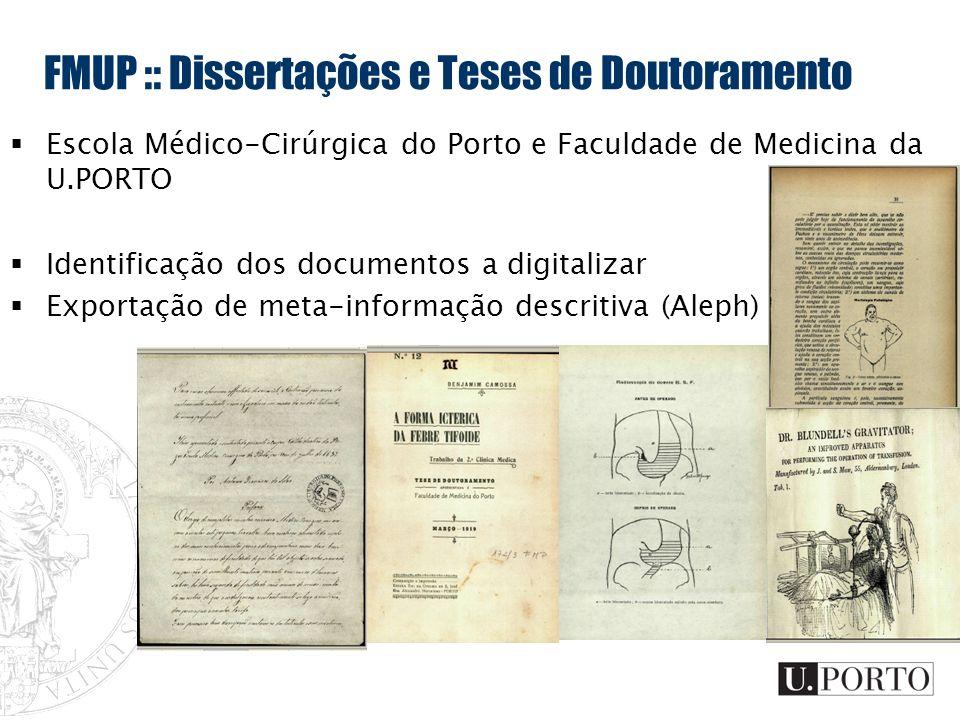 FMUP :: Dissertações e Teses de Doutoramento