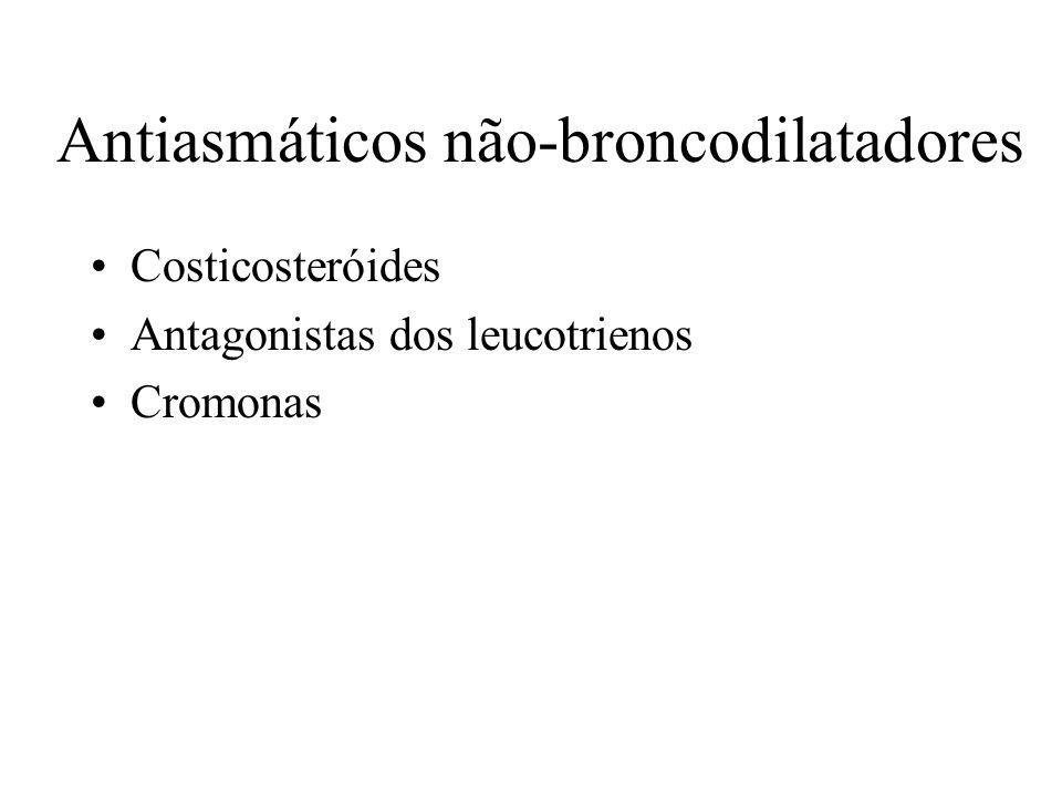 Antiasmáticos não-broncodilatadores