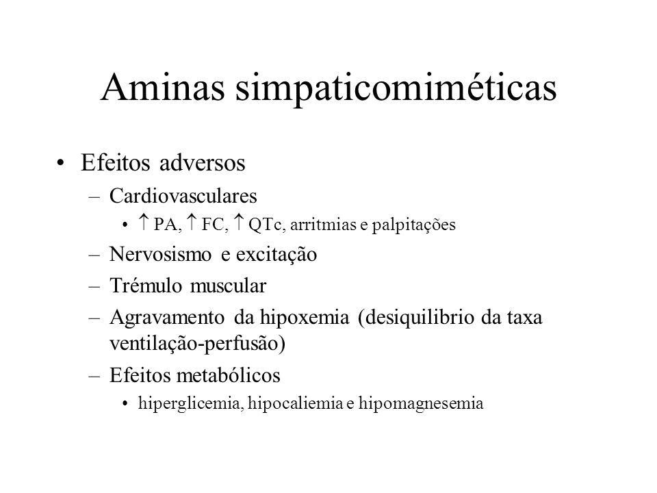 Aminas simpaticomiméticas