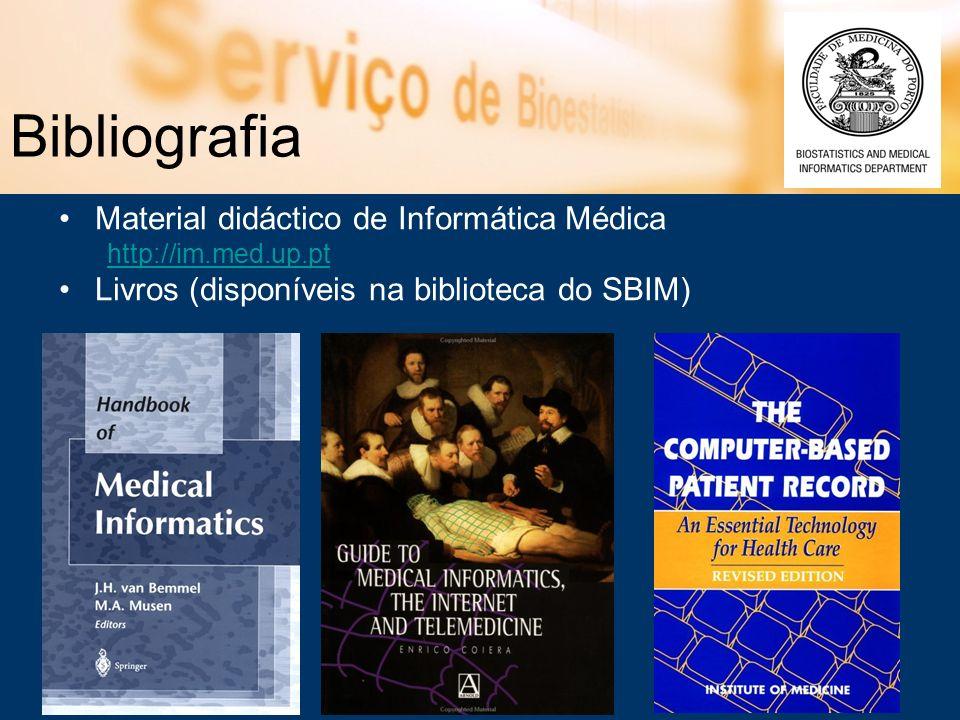 Bibliografia Material didáctico de Informática Médica