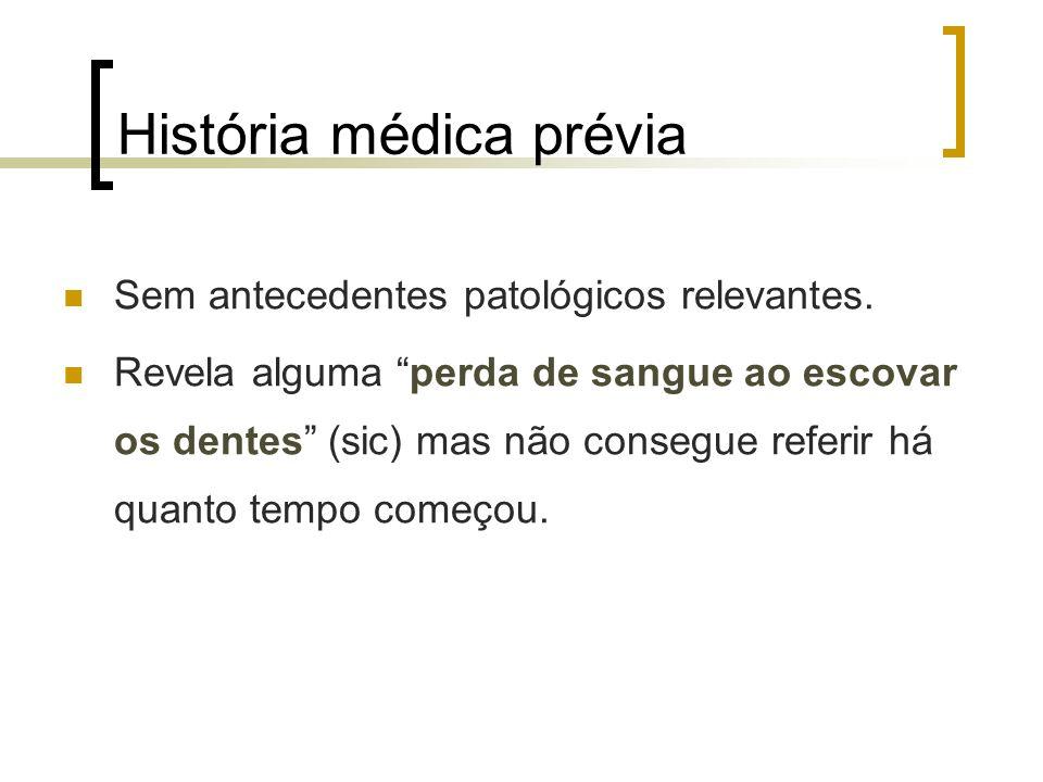 História médica prévia