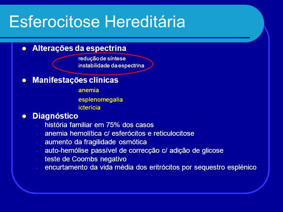 Esferocitose Hereditária
