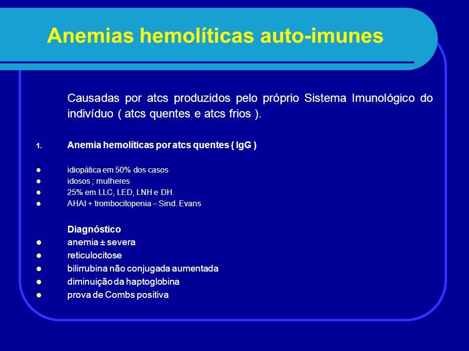 Anemias hemolíticas auto-imunes