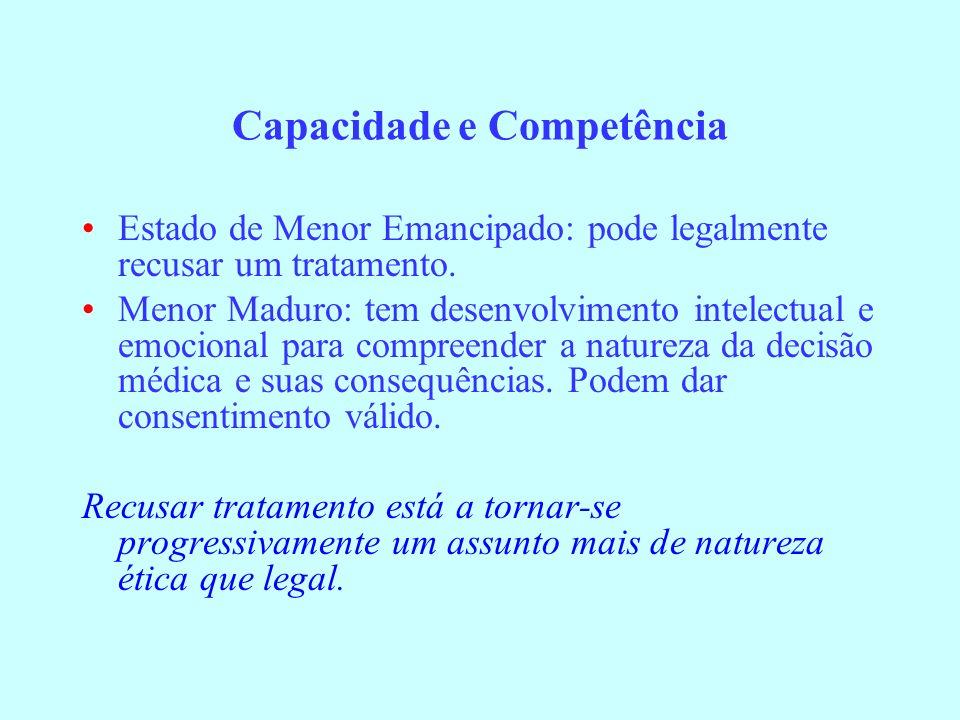 Capacidade e Competência