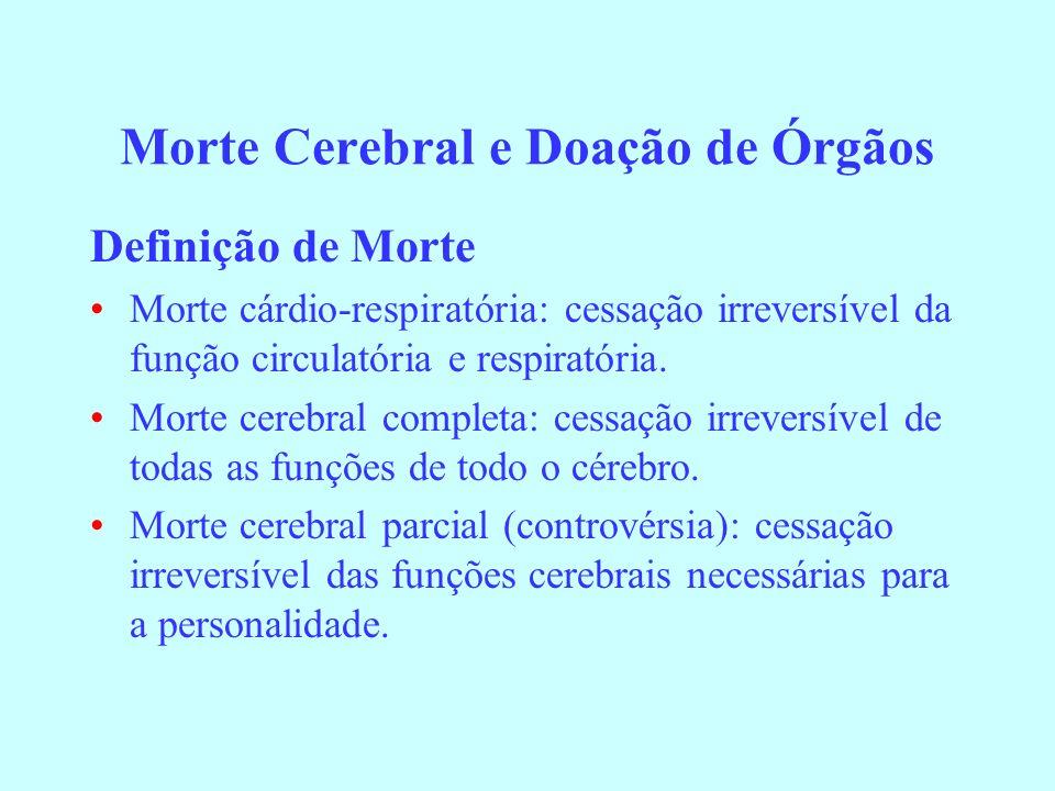Morte Cerebral e Doação de Órgãos