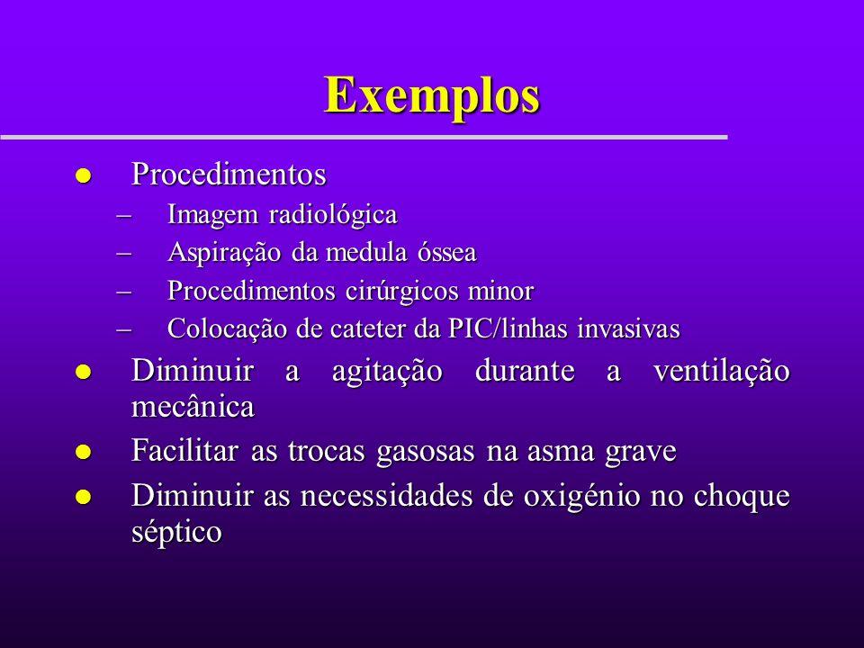 Exemplos Procedimentos