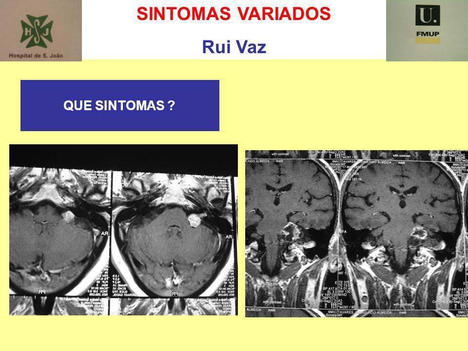 SINTOMAS VARIADOS Rui Vaz