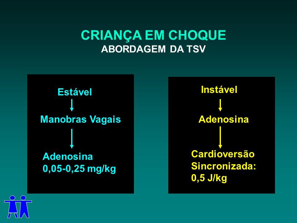 CRIANÇA EM CHOQUE ABORDAGEM DA TSV