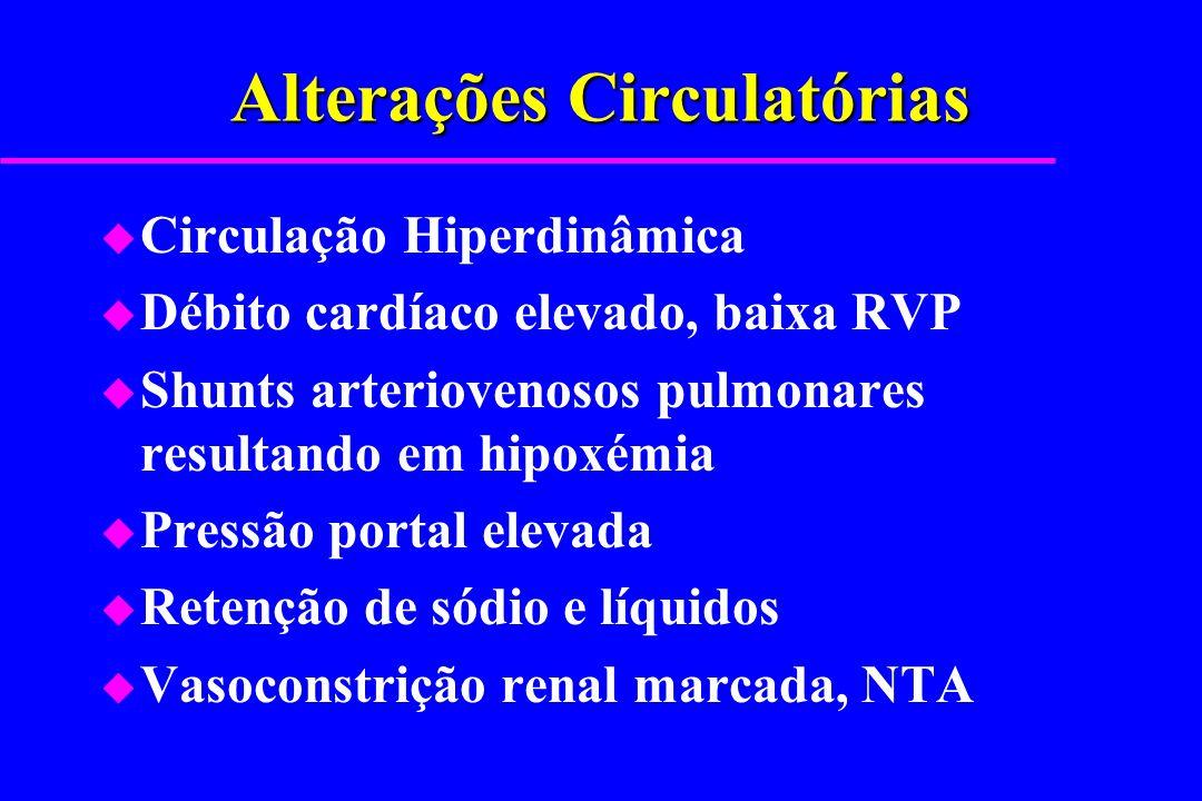 Alterações Circulatórias