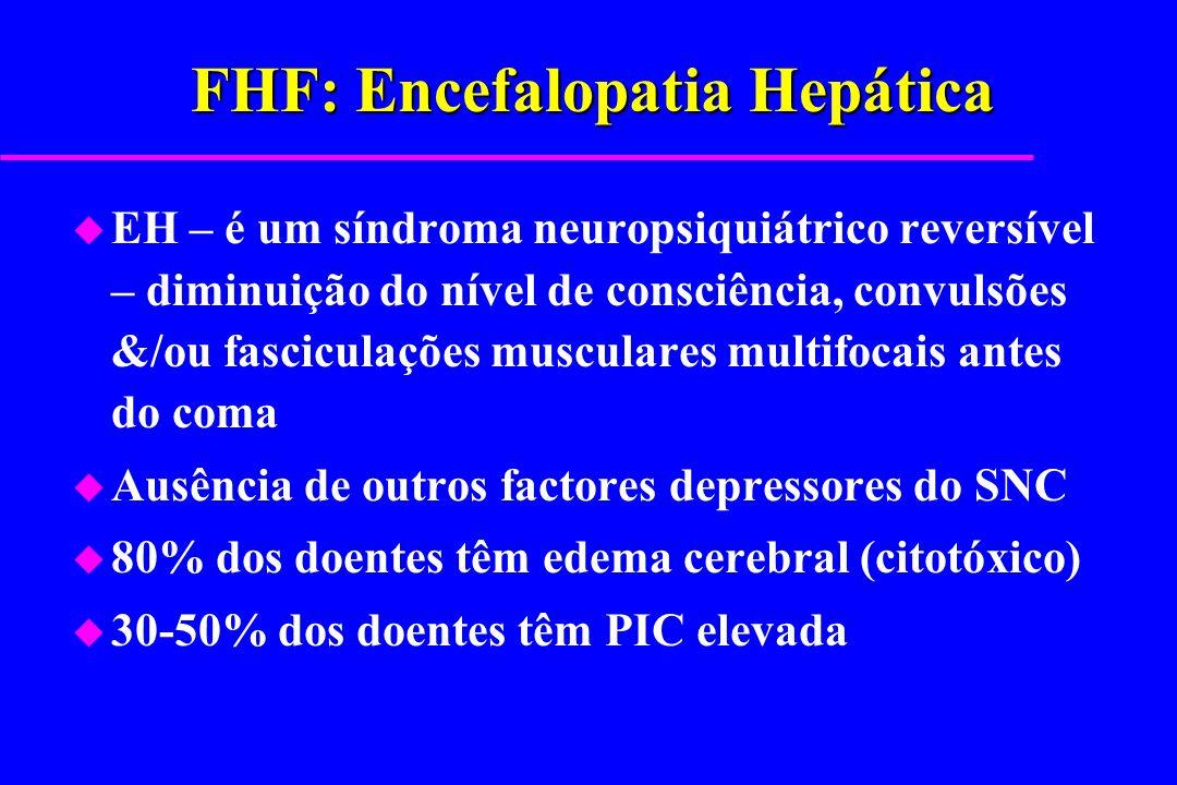 FHF: Encefalopatia Hepática