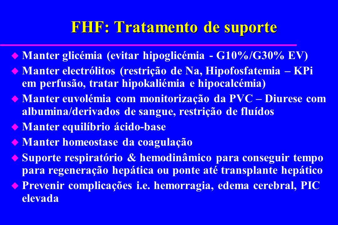 FHF: Tratamento de suporte