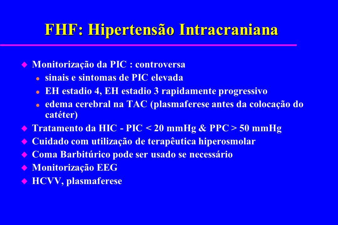 FHF: Hipertensão Intracraniana