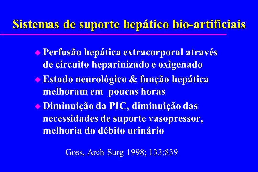 Sistemas de suporte hepático bio-artificiais