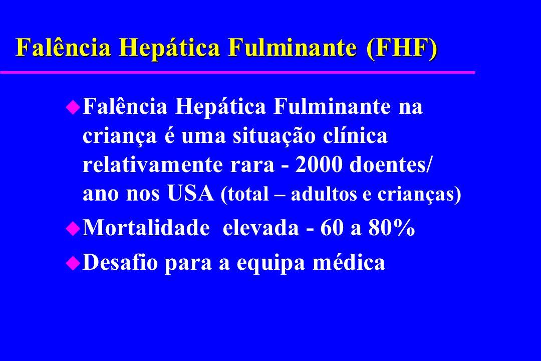 Falência Hepática Fulminante (FHF)