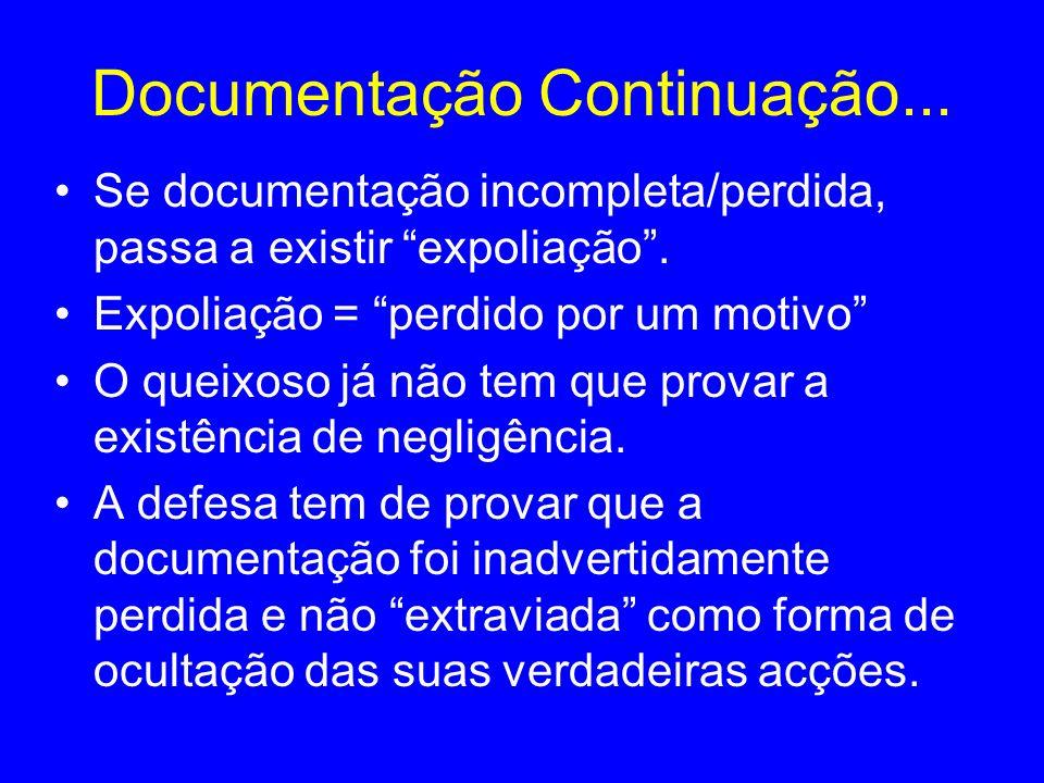 Documentação Continuação...