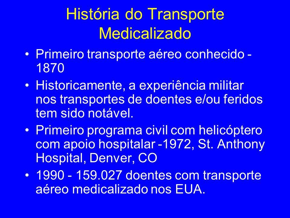 História do Transporte Medicalizado