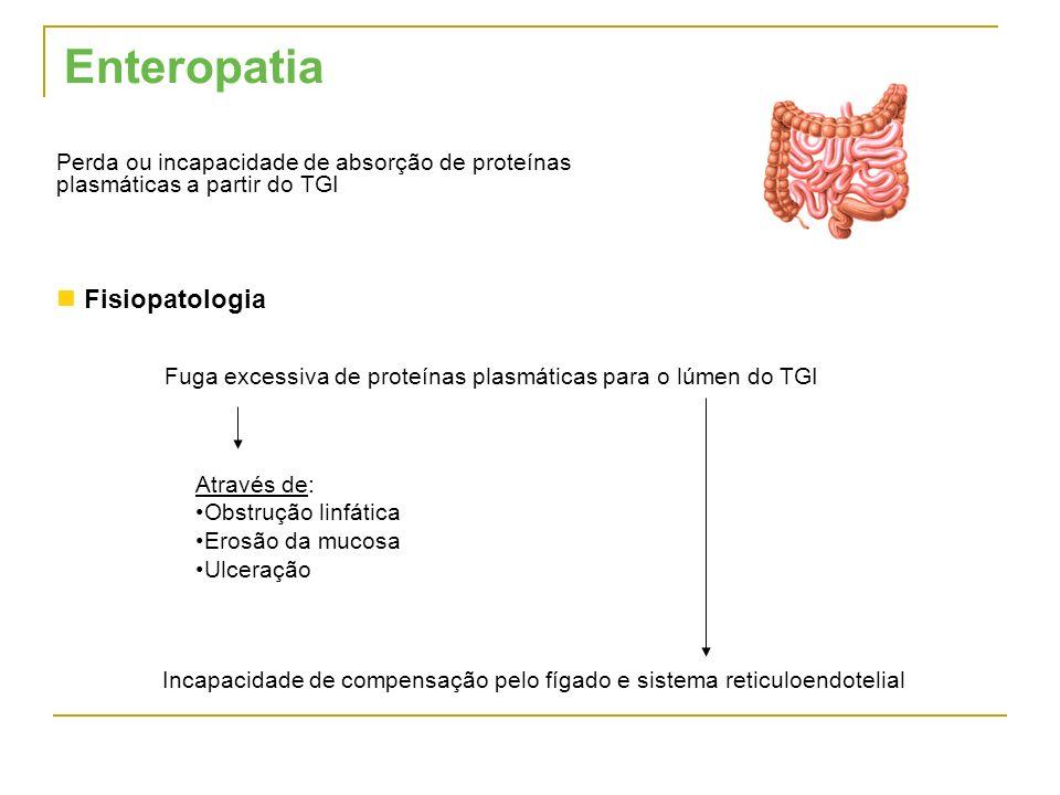 Enteropatia Fisiopatologia